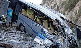 Tai nạn xe buýt nghiêm trọng ở Brazil làm ít nhất 14 người thiệt mạng