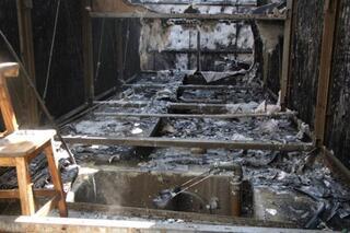 Điều hòa chung cư HH2 Complex cháy dữ dội, hàng trăm người dân tháo chạy