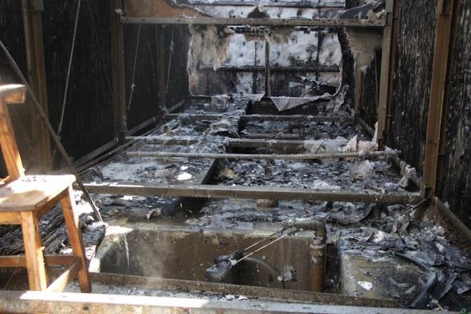 Hệ thống điều hòa chung cư HH2 Complex cháy dữ dội, hàng trăm dân bỏ chạy