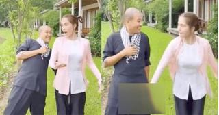 Ngọc Trinh bị chỉ trích khi đăng clip đụng chạm bộ phận nhạy cảm của bạn khác giới