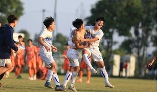 Xác định 2 đội bóng đầu tiên vào bán kết U17 Cúp Quốc gia