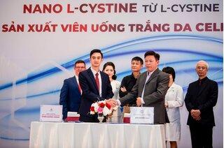 Celia Luxury - viên uống trắng da đầu tiên tại Việt Nam ứng dụng Nano L- Cystine