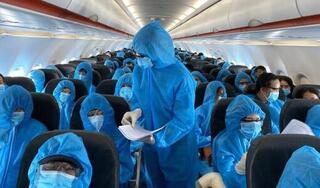 Vietnam Airlines đưa gần 360 công dân Việt Nam về nước an toàn