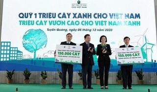 Hành trình triệu cây vươn cao cho Việt Nam xanh của Vinamilk đã cán đích với 1.121.000 cây được trồng