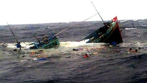 Vụ 4 ngư dân là anh em gặp nạn trên biển: Đã thấy thi thể người em út