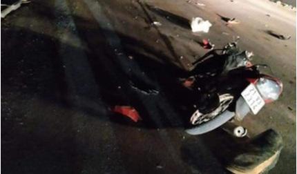 Truy tìm ô tô tông 2 người đi xe máy tử vong rồi bỏ chạy