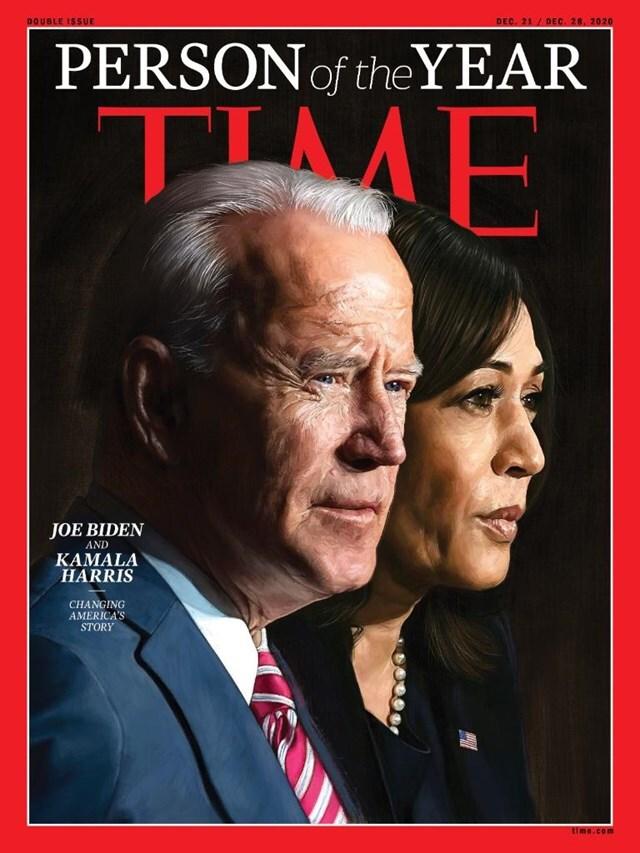 Ông Biden được tôn vinh là Nhân vật của năm