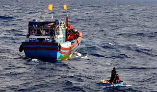 Điều tra tin báo thuyền trưởng đánh, chém ngư phủ rồi đẩy xuống biển