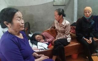 Quặn thắt lòng người mẹ có 2 con bị xe container lùi cán tử vong