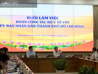 Bộ trưởng Bộ Y tế: TP.HCM không phải ổ dịch nên không phải xét nghiệm người dân khi đến các tỉnh, thành