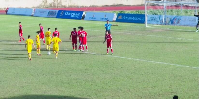 U21 Nam Định rộng cửa vào bán kết giải quốc gia