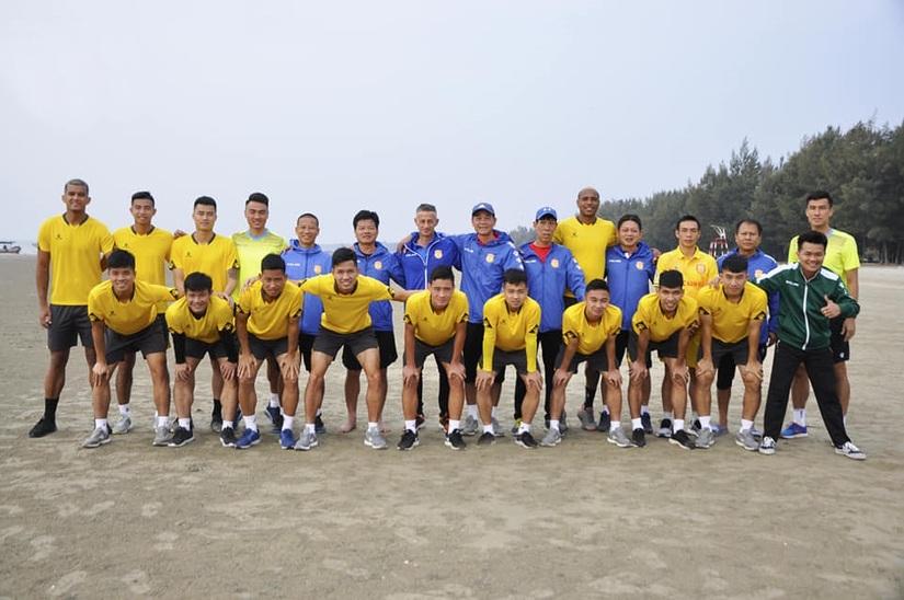 DNH Nam Định chuẩn bị bước vào đợt tập huấn thứ 2