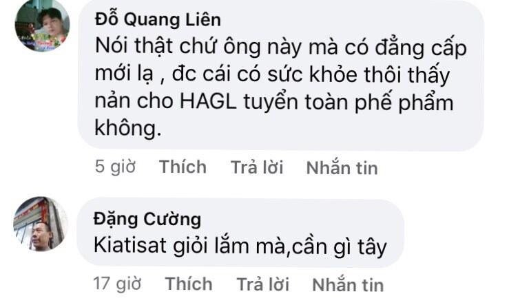 Fan thất vọng vì HAGL thử việc 'ông Tây' hết thời