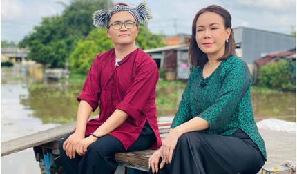 Sau lễ tang nghệ sĩ Chí Tài, Việt Hương quay lại làm việc với gương mặt tiều tụy