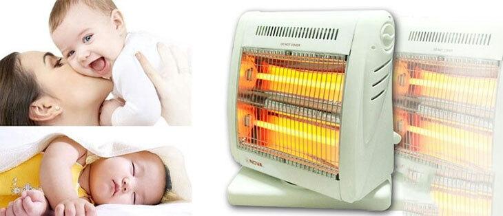 Ghi nhớ những điều này khi sử dụng thiết bị sưởi ấm trong mùa lạnh để đảm bảo an toàn