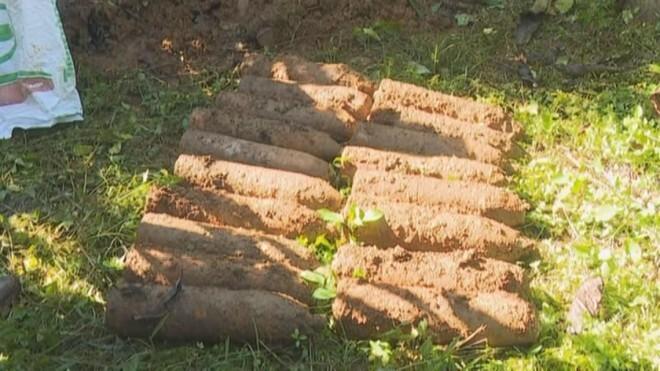 Phát hiện 180 quả đạn pháo nằm rải rác trong rẫy cà phê ở Đắk Lắk