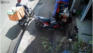 Vào giao đồ nhưng quên không rút khoá, shipper mất cả xe máy lẫn hàng