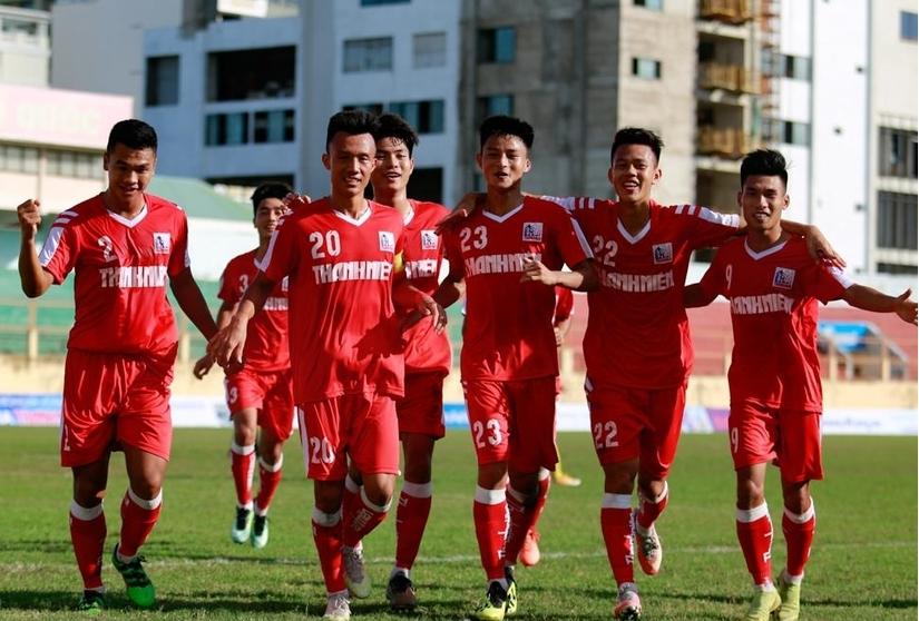 U21 Nam Định thi đấu bán kết với U21 SLNA