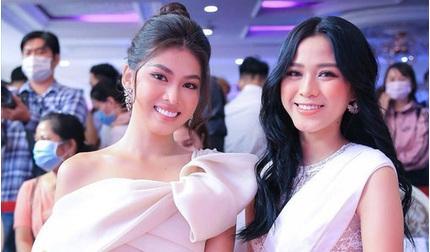 Đọ sắc với Á hậu Ngọc Thảo, Hoa hậu Đỗ Thị Hà lộ vòng 2 kém thon gọn