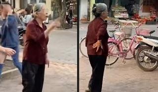 Xôn xao clip cụ bà 80 tuổi rủ hội bạn thân đi từ Hải Phòng lên Hà Nội đánh ghen