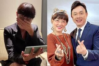 Diễn viên Phương Dung bât khóc chia sẻ clip buổi sáng đi quay trước khi mất của NS Chí Tài