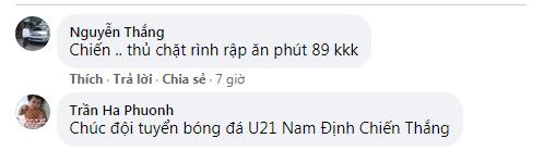 Fan trung lập cổ vũ U21 Nam Định đánh bại Nghệ An