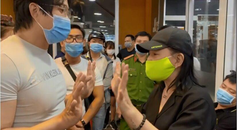 Cát Phượng bị chỉ trích 'hỗn láo' khi phản bác lời nhắc nhở của NSND Việt Anh