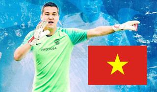 Thủ môn Filip Nguyễn phân vân giữa tuyển Việt Nam và tuyển Séc