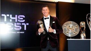 Lewandowski giành danh hiệu Cầu thủ nam xuất sắc nhất
