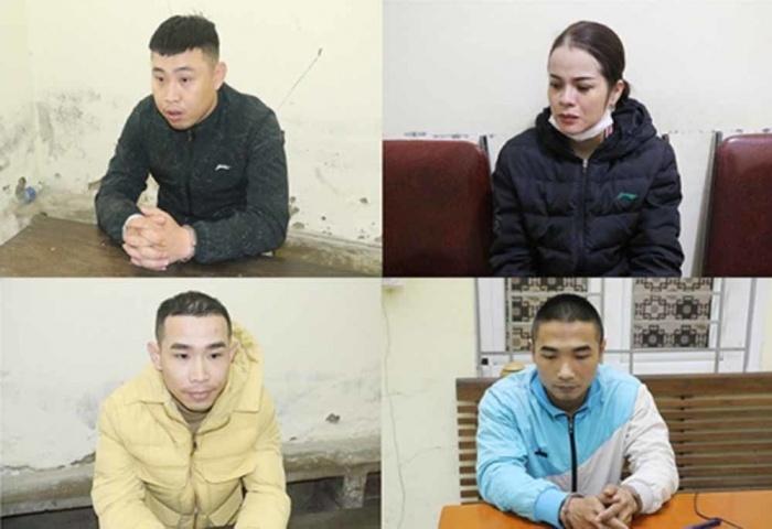 Cặp vợ chồng cầm đầu băng dùng dao phóng lợn đòi tiền 'bảo kê' cổng bệnh viện