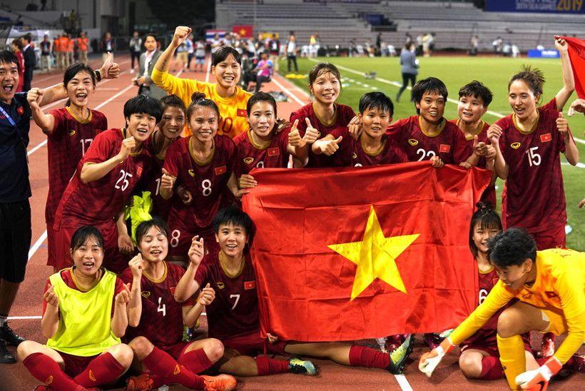 Đội tuyển nữ Việt Nam đứng trong top 5 châu Á