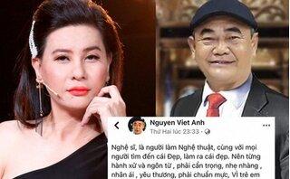 Cát Phượng xin lỗi nghệ sĩ Việt Anh sau phát ngôn thiếu tôn trọng