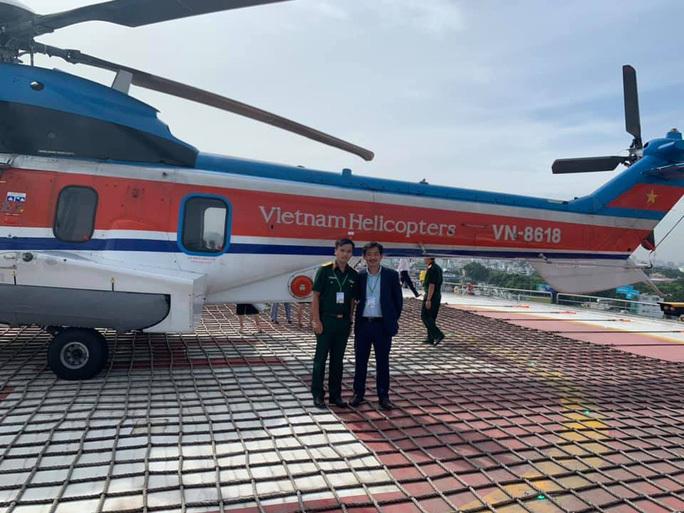 Bệnh viện đầu tiên ở Việt Nam có sân bay cấp cứu trực thăng hoạt động