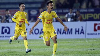 Sao Nam Định tự tin trước trận so tài với tuyển quốc gia Việt Nam