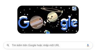 Google doodle hôm nay 21/12/2020: Hành tinh đôi Đông chí, hiện tượng chỉ diễn ra 60 năm một lần