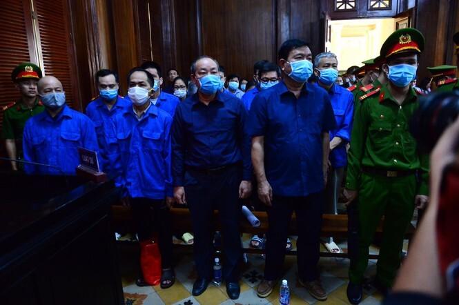 Ông Đinh La Thăng bị tuyên án 10 năm tù vụ cao tốc TPHCM-Trung Lương