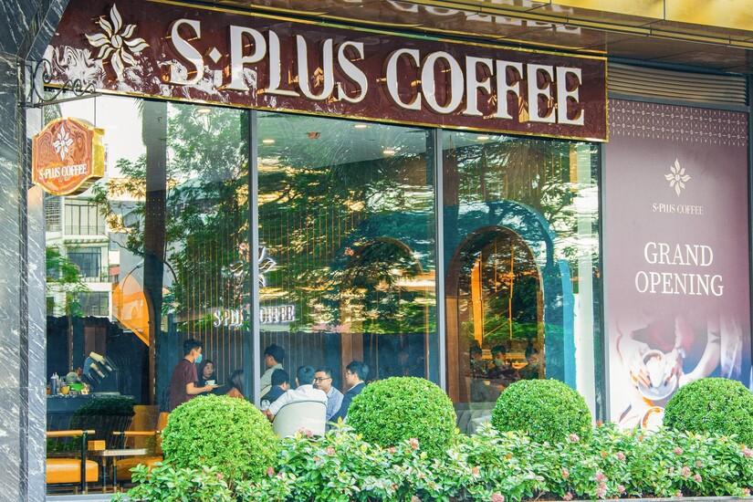 Thêm một cơ sở của chuỗi thương hiệu 5 sao S-Plus Coffee khai trương tại khu vực Tây Hà Nội