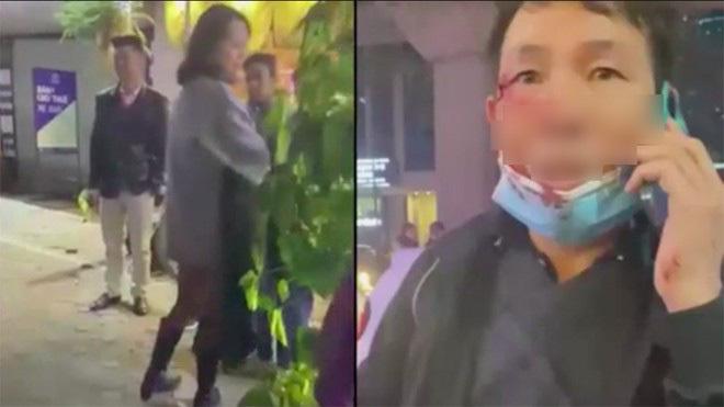 Tài xế taxi bị cô gái trẻ đánh chảy máu đầu
