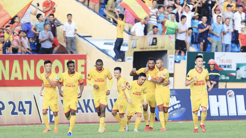 DNH Nam Định sẵn sàng cho trận đấu với 'đại gia' V.League