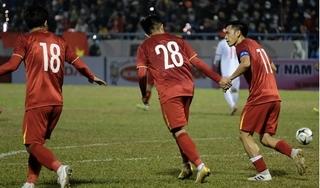 Xuân Trường ghi bàn, tuyển quốc gia Việt Nam đánh bại 'đàn em' U22