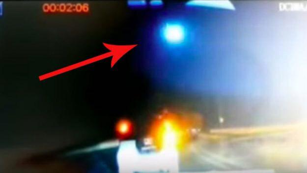 Video quả cầu lửa bí ẩn xuất hiện trên bầu trời Trung Quốc
