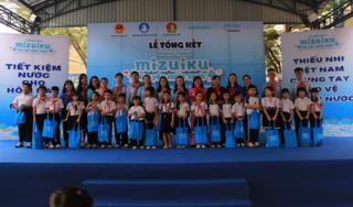 """Hơn 45.000 học sinh được tuyên truyền bảo vệ tài nguyên nước cùng """"Mizuiku – Em Yêu Nước Sạch"""""""
