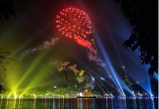 3 địa điểm tố chức bắn pháo hoa mừng Tết Dương Lịch 2021 ở Hà Nội