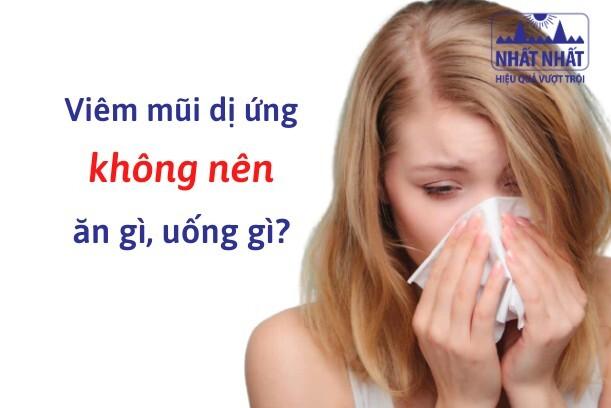 viêm mũi dị ứng