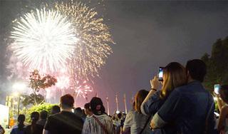 Đây là những địa điểm bắn và ngắm pháo hoa Tết Dương lịch cực đẹp tại Hà Nội