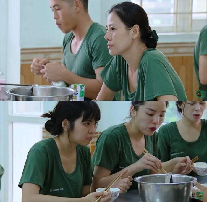Vợ chồng Trấn Thành nói điều bất ngờ khi Khánh Vân bị chỉ trích trong Sao nhập ngũ.1