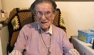 Cụ bà 107 tuổi gửi tâm thư cho cả thế giới, thu hút 43.000 lượt chia sẻ