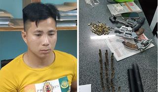 Nhóm thanh niên vác 4 khẩu súng, 164 viên đạn đi tìm