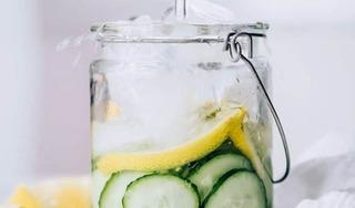 Cách làm nước detox dưa chuột cực dễ giúp bạn đẹp xinh lung linh trong năm mới