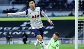 Son Heung Min cán mốc 100 bàn cho Tottenham: Xứng danh siêu sao ngoại hạng Anh